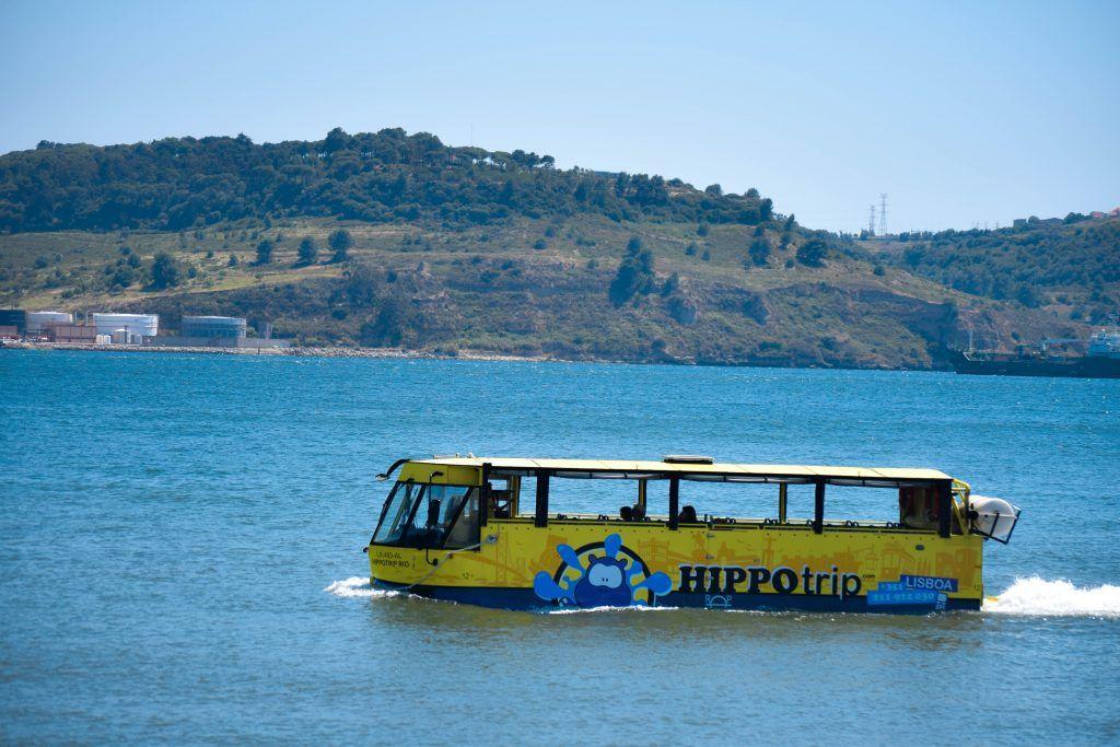 Tour en bus anfibio por Lisboa