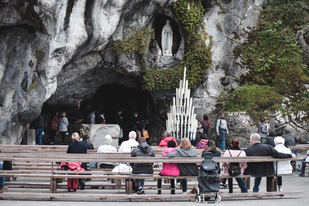 El santuario de nuestra señora de Lourdes
