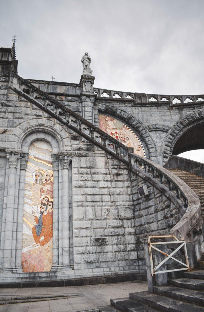 Las escaleras santas