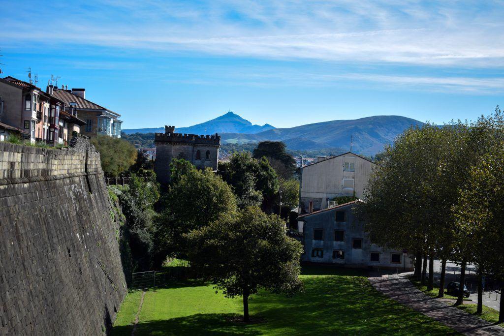 Vista de las murallas