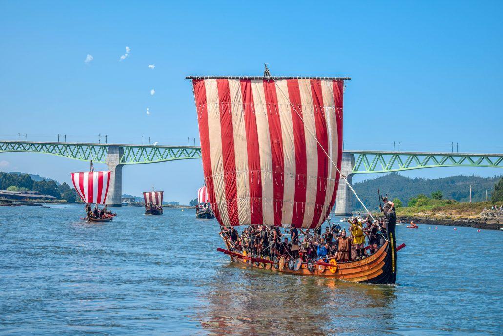 ¿Qué tiene que ver Catoira con la fiesta vikinga?