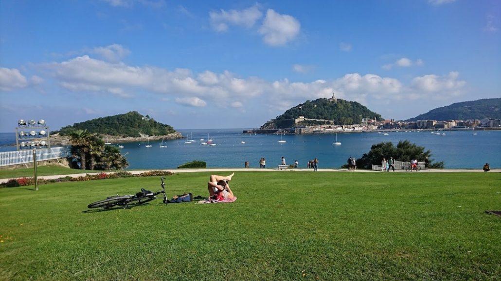 Playas en San Sebastián