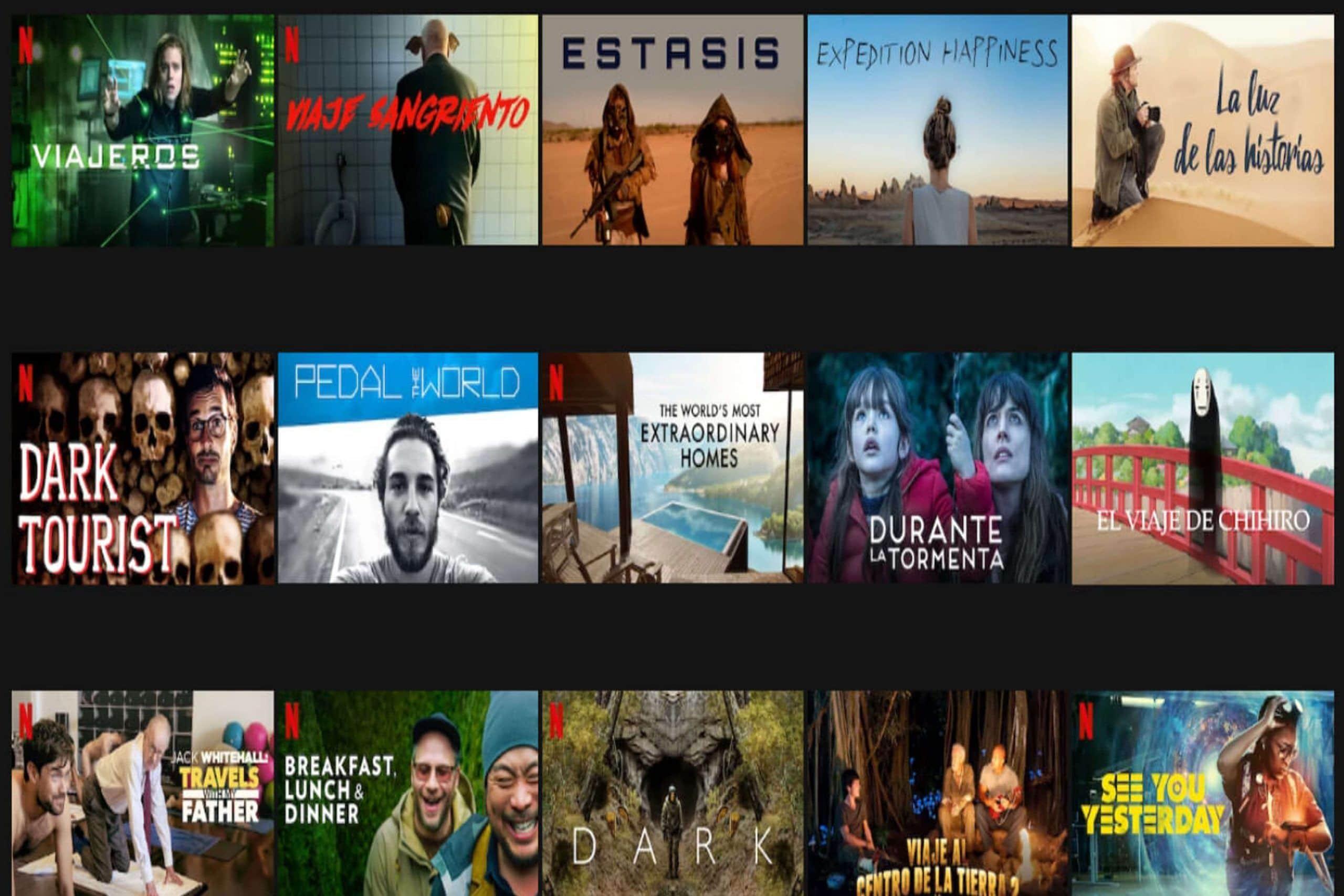 Películas en Netflix que inspiran a viajar