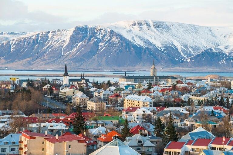 Reykjavik, la capital de Islandia (Shutterstock)