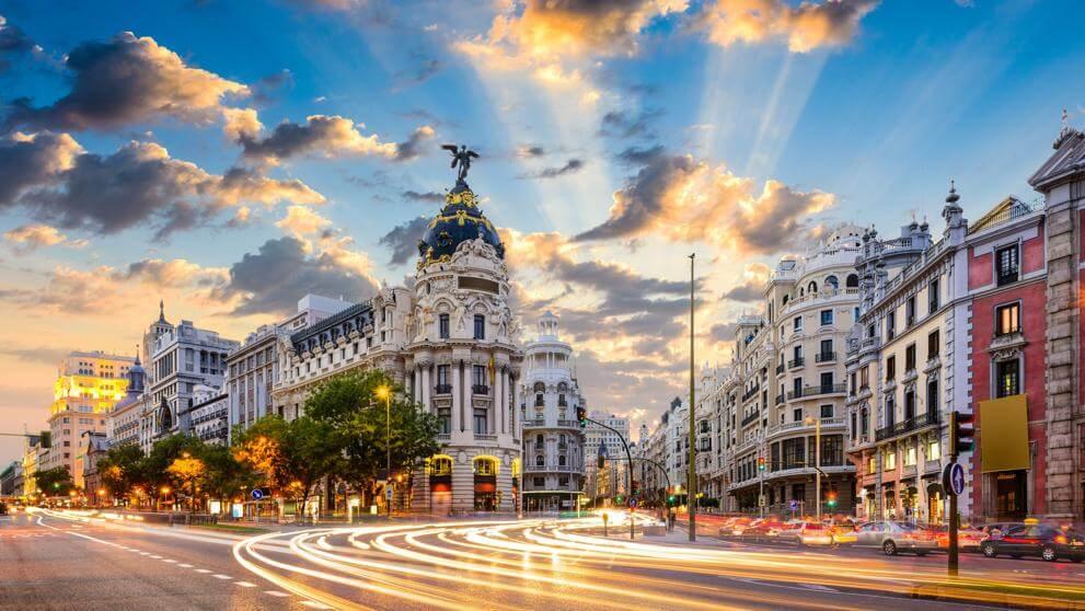 Madrid, España Covid-19