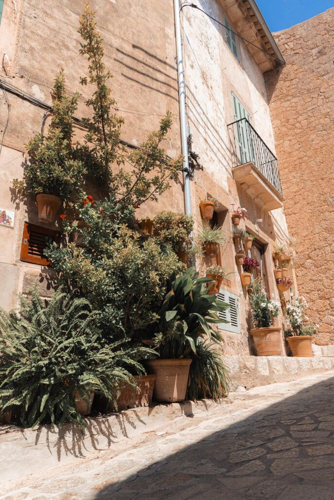 Las hermosas calles de Mallorca